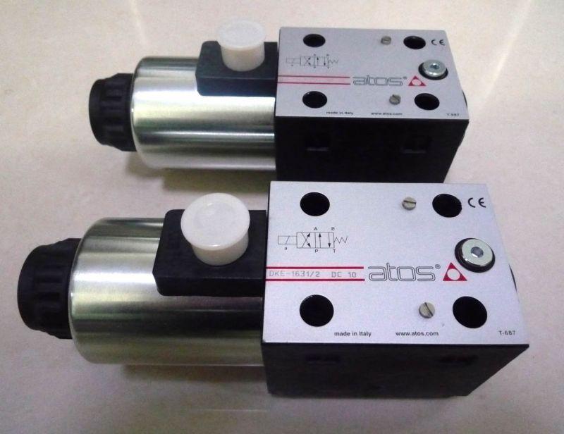 ATOS电磁阀的主要特点电磁阀外漏堵绝,内漏易控,使用安全。内外泄漏是危及安全的要素。其它自控阀通常将阀杆伸出,由电动、气动、液动执行机构控制阀芯的转动或移动。这都要解决长期动作阀杆动密封的外泄漏难题;唯有电磁阀是用电磁力作用于密封在电动调节阀隔磁套管内的铁芯完成,不存在动密封,所以外漏易堵绝。电动阀力矩控制不易,容易产生内漏,甚至拉断阀杆头部;电磁阀的结构型式容易控制内泄漏,直至降为零。所以,电磁阀使用特别安全,尤其适用于腐蚀性、有毒或高低温的介质。 ATOS电磁阀系统简单,便接电脑,价格低谦。电磁阀