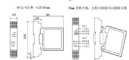 热电阻温度信号隔离器