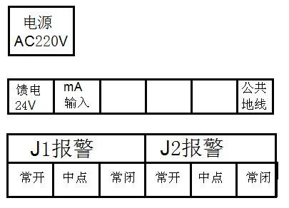 液位变送器4-20ma输入接线图