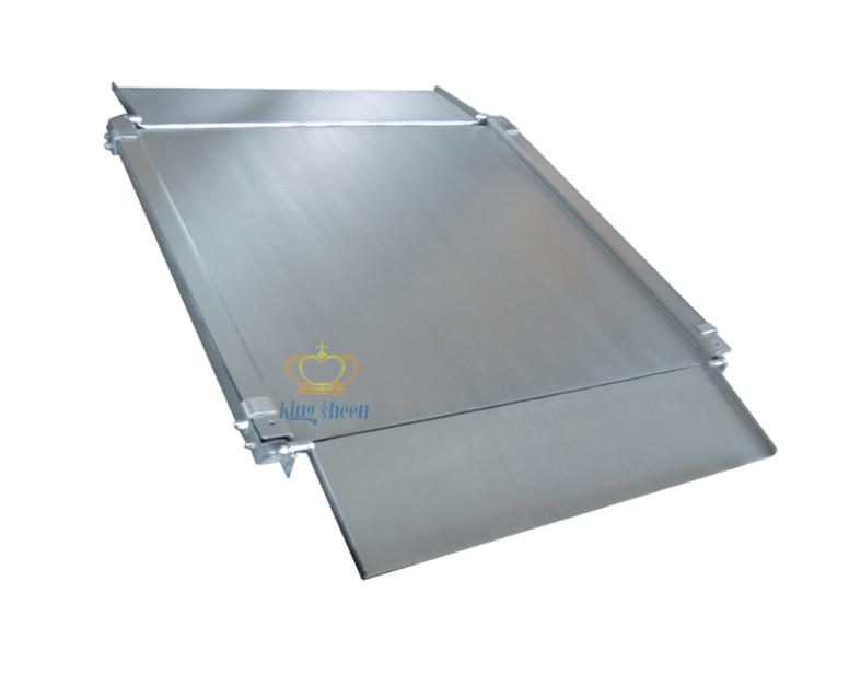 江苏1T不锈钢双层电子地磅