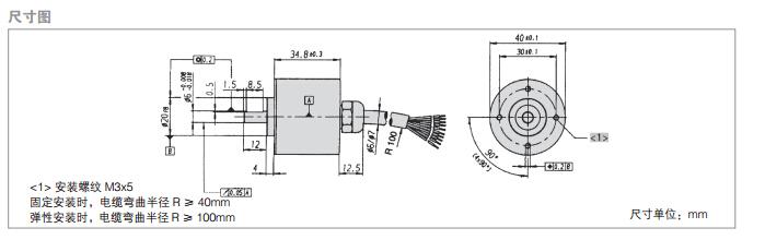 经济型编码器 较高防护等级ip 65 推挽式或npn-集电极开路输出 应用