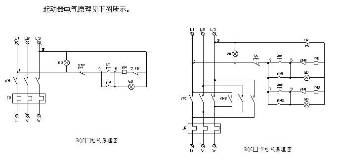 BQC系列防爆磁力起动器(以下简称起动器),用于II类、B级或C级,T4组及以下级别组别的含有爆炸性气体混合物的危险场所中,作为控制交流50Hz、额定电压至380V、额定工作电流至100A、控制功率至50KW的三相异步电动机的起动、停止,换向并具有过载、短路保护。 防爆磁力启动器,BQC51系列防爆磁力启动器工作条件: