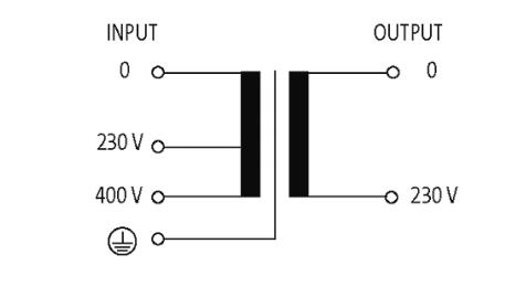 k单相隔离变压器