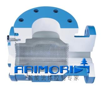 arimori水泵过滤器3d结构图
