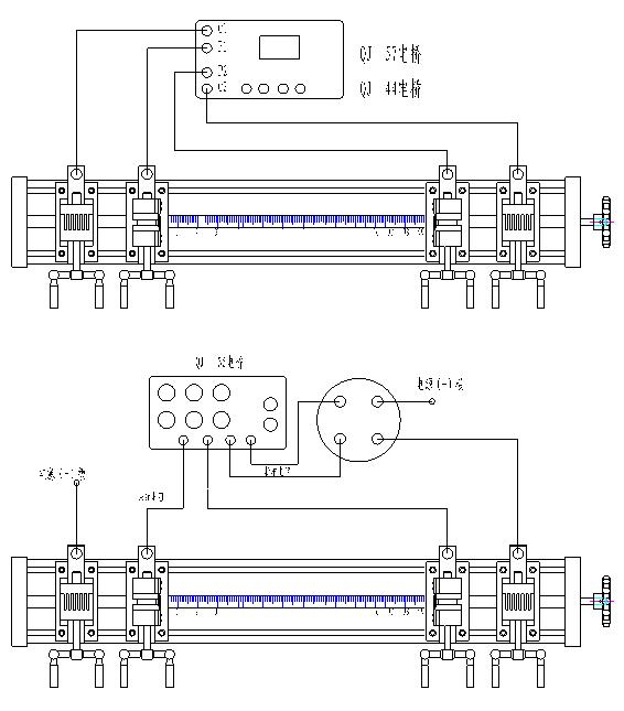 导体电阻夹具使用方法: 1、调整距离。由于本夹具夹头采用的是可调式,因此测量前需检查两电压夹头之间距离是否为1m。夹具须定期向当地计量部门校核1米长度。 2、调整相邻两电流夹具与电压夹具之间的距离,使其距离不小于被测试样截面周长的1.5倍。 3、接线。连接电桥与电桥夹具,连接夹具内两电压夹头之间连线。 4、安装试样。旋开两电流夹具,将试样放于电流夹具、内,拉直试样,并夹紧;旋动张紧手柄拉紧试样(用力不可过大);再将电压夹具、轻轻夹紧直至有效接触为止。 5、试验开始并作以记录。 四、夹具的保养: 1