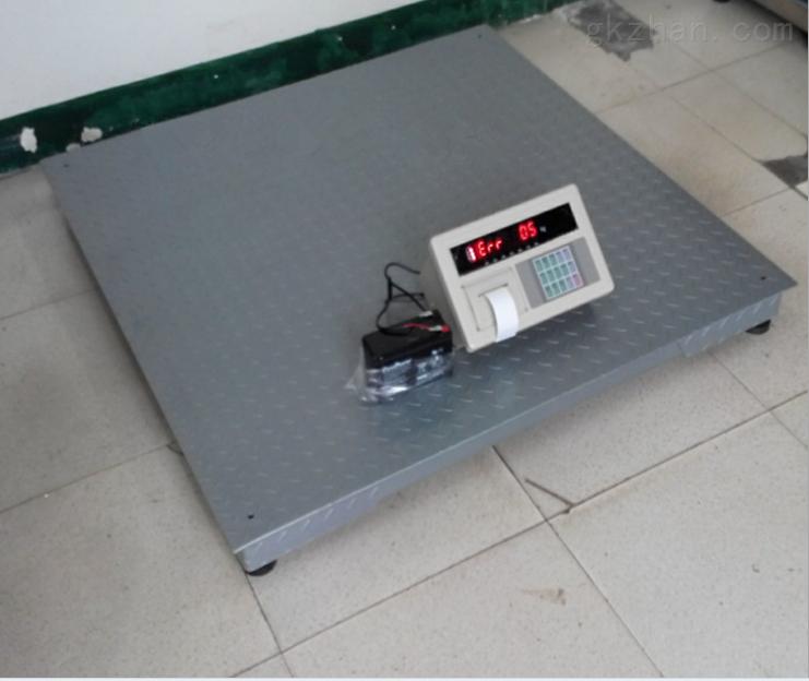 電子地磅:地磅帶打印1噸2噸3噸