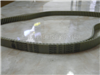 供应进口同步带高速传动带DT10-1100双面齿同步带