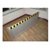 配电间铝合金防鼠板,定做50公分铝合金挡板