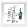 货号:500-100甲醛被动式采样器UMEx 100