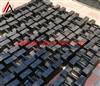 电梯配重25千克锁状砝码,上海厂家25公斤手提式电梯砝码
